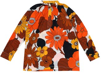 Dodo Bar Or Kids Floral cotton shirt