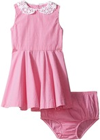 Ralph Lauren Poplin Gingham Dress Girl's Dress