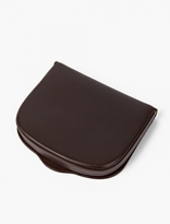 A.p.c. Brown Leather Cresus Coin Wallet