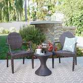 Ophelia Ziv 3 Piece Rattan Seating Group & Co.