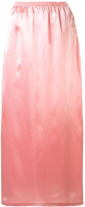 MM6 MAISON MARGIELA Satin Midi Skirt