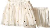Stella McCartney Honey Polka Dot Tulle Skirt (Infant)