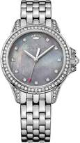 Juicy Couture Women's 'Malibu' Quartz Stainless Steel Casual Watch, Color:Silver-Toned (Model: 1901491)