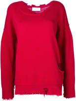 IRO ripped sweatshirt