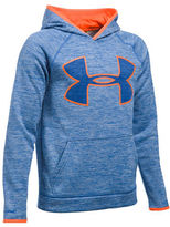 Under Armour Boys 8-20 Long Sleeve Logo Printed Hooded Pullover
