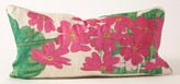 The Well Appointed House Pink Tobacco Flowers Linen Pillow