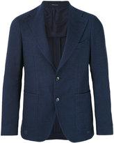 Tagliatore patch pocket blazer - men - Linen/Flax/Cupro/Virgin Wool - 48