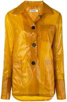 Jil Sander vinyl rain jacket