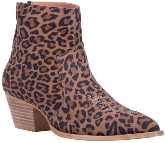 Dingo Leather Back Zip Booties - Klanton