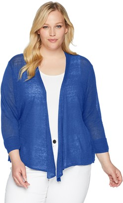 Nic+Zoe Women's Size Plus 4-Way Cardy