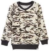 Sovereign Code Stokes Printed Sweatshirt (Toddler & Little Boys)
