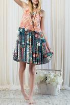 Easel Festival Tank Dress