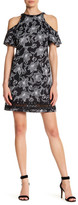 Julia Jordan Cold Shoulder Printed Dress