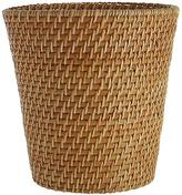 Complements Rattan Waste Basket