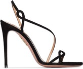 Aquazzura Serpentine 105mm sandals