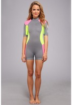 Rip Curl Dawn Patrol 2mm S/S Spring Suit Women's Wetsuits One Piece