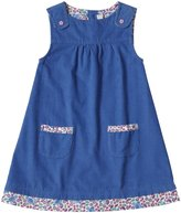 Jo-Jo JoJo Maman Bebe Pinafore Dress (Toddler/Kid) - Blue-4-5 Years