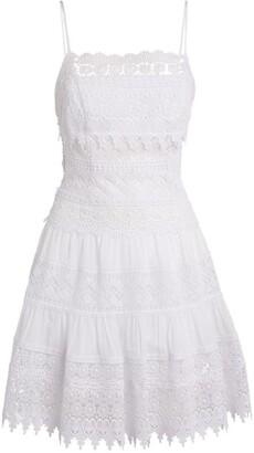 Charo Ruiz Ibiza Tiered Lace Dress