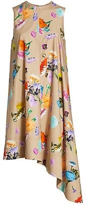 Tibi Arya Floral Sleeveless Dress