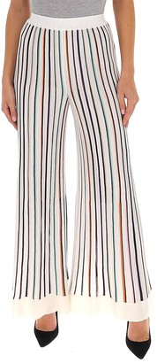 Missoni Striped Wide-Leg Trousers