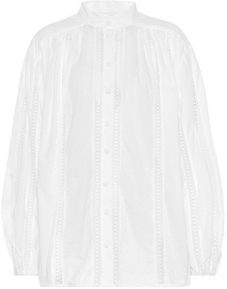 Zimmermann Suraya cotton blouse