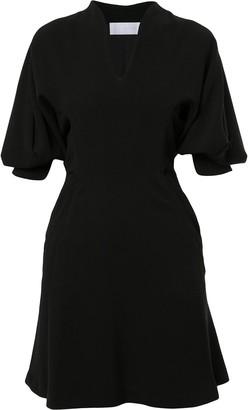Mame Kurogouchi Voluminous Sleeve Shift Dress