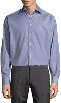 Eton Textured Dress Shirt, Blue