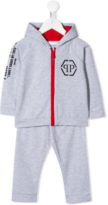 Philipp Plein Junior Teddy Print Tracksuit Set