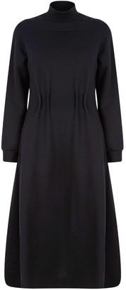 Talented Not Naked Back Jersey Dress - Black
