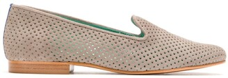 Blue Bird Shoes suede Saudade loafers
