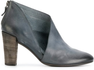 Del Carlo Cut Out Detail Boots