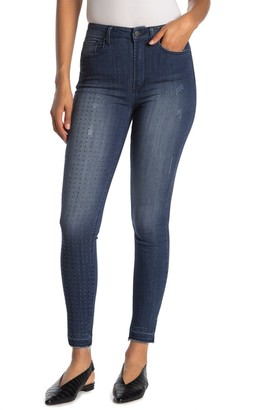 Rachel Roy Collection Easton Studded Skinny Jeans
