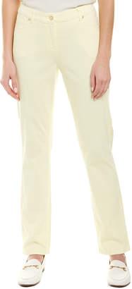 J.Mclaughlin Lexi Daisy Yellow Straight Leg Jean