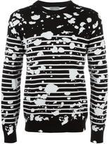 Christian Dior splatter pattern jumper