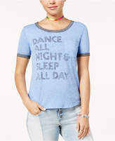 Hybrid Juniors' Dance Graphic T-Shirt