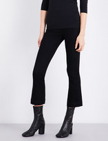 Helmut Lang Skinny cropped stretch-cotton trousers