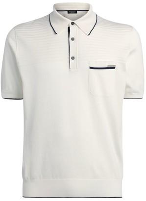 Stefano Ricci Contrast-Trim Polo Shirt