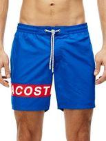 Lacoste Logo Taffeta Swim Shorts