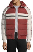 Zegna Sport Quilted Zip-Front Down Jacket
