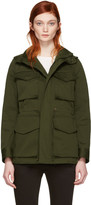 DSQUARED2 Green Kaban Utility Jacket