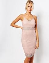 Fashion Union Cami Bodycon Dress In Lace