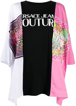 Versace Patchwork Jersey Tunic