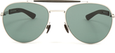 Mykita Mylon Sloe stainless-steel aviator sunglasses