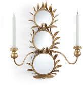 Chelsea House Harting 2-Light Sconce - Antiqued Gold
