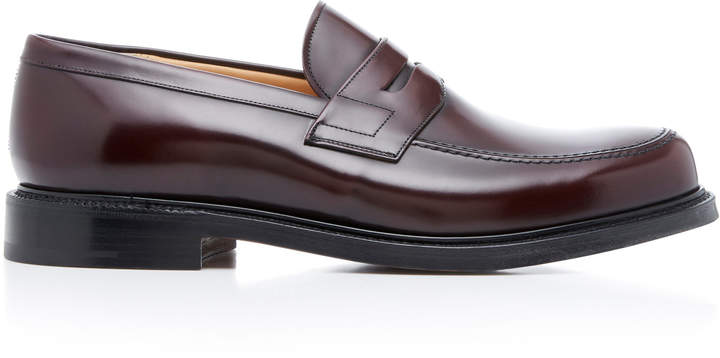 Church's Staden Polished-Leather Penny Loafers