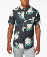 Ezekiel Men's Wander Floral-Print Pocket Shirt