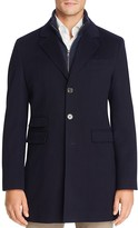 Cardinal Doeskin Wool Storm System Coat