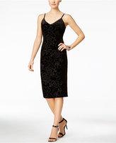 Jessica Simpson Velvet Midi Slip Dress