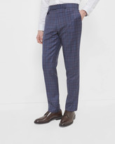 Sterling Checked Wool Trousers