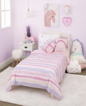 Everything Kids Watercolor Rainbow 2-Piece Twin Bedding Set Bedding